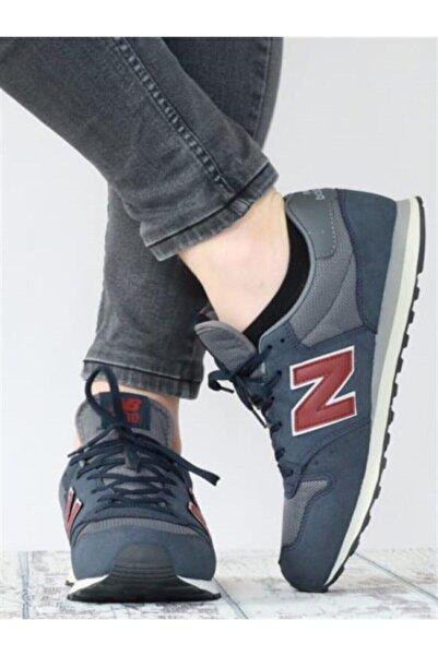 New Balance 500 Lacivert Kırmızı Erkek Günlük Spor Ayakkabı Gm500tskv3