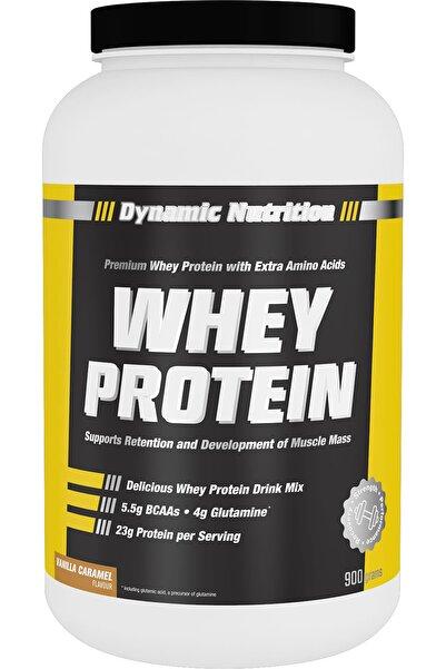 Dynamic Nutrition Dynamic Whey Protein Tozu 900 Gr (vanilya % Karamel Aromalı)