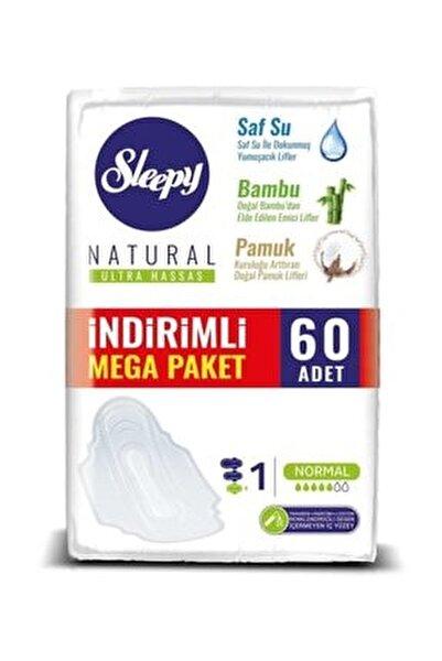 Hijyenik Ped Natural Ultra Hassas Normal Mega Paketi - 60'lı