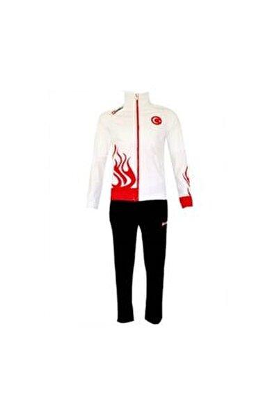 Erkek Siyah Suit Fire Pl Milli Takım Eşofman Takımı R0402/17