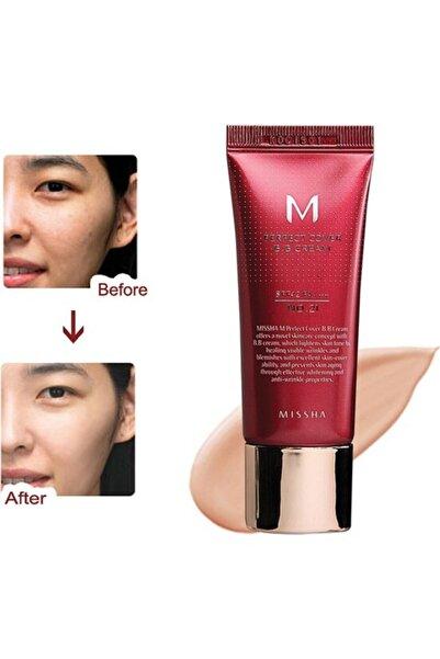Yoğun Kapatıcılık İçeren BB Krem - M Perfect Cover BB Cream No: 21 20 ml 8806333395361