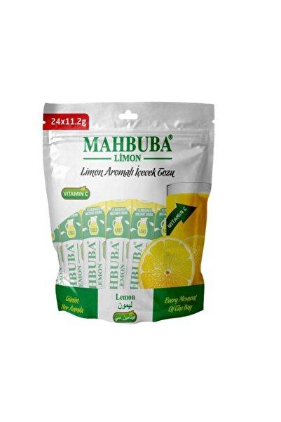 Mahbuba Limon Toz İçecek Gerçek Meyve Tadında 24 X 1.5 Litre