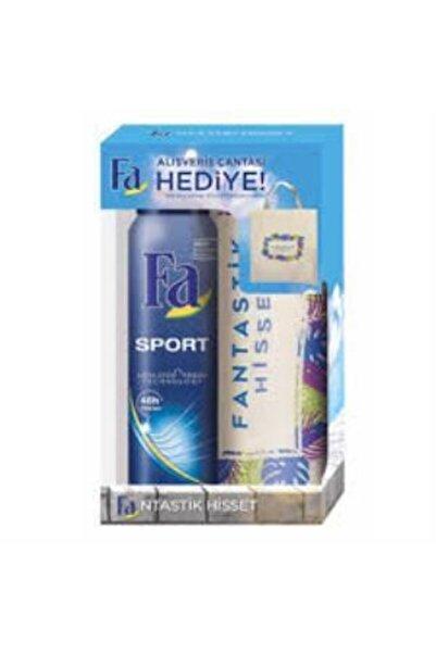 Fa Deodorant Sport 150 ml Alışveriş Bez Çanta Hediye Set