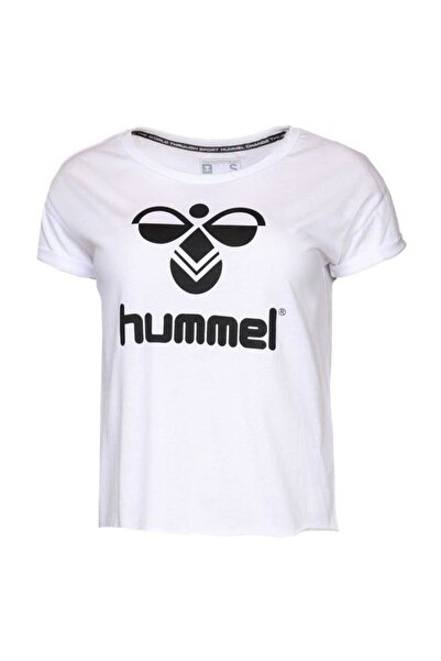 HUMMEL Tiora Beyaz Kadın Tiişört 910504-9001