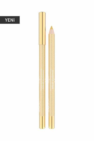 Golden Rose Göz Kalemi - Diamond Breeze Shimmering Eye Pencil 01 24k Gold 8691190965532