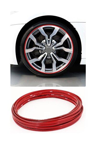 ModaCar 1.5 Metre 9 Mm Jant Çevresine Sportif Kırmızı Şerit 422400