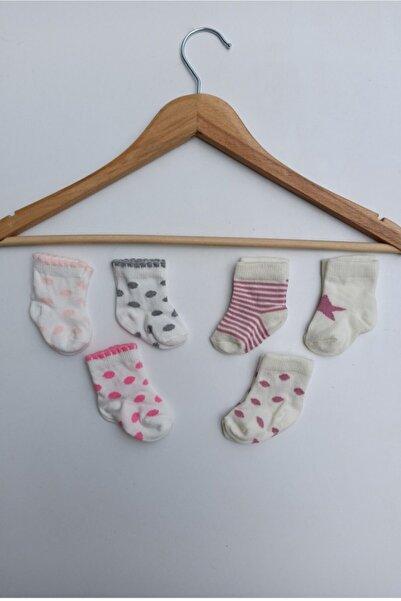 Bebitof Bebek Çorabı 6 Adet 0-6 Ay
