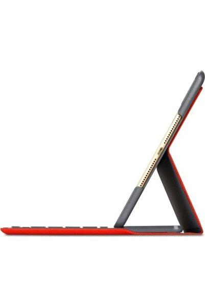 logitech 9.7 Inç Ipad Air 2 Klavyeli Kılıf Canvas Red (nordic, Q) Türkçe Stickerlı
