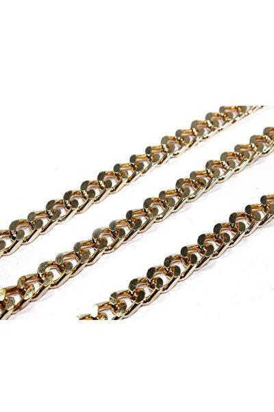 TahtakaleToptancıları Metal Çanta Ve Takı Zinciri 10 mm (1 mt) Altın