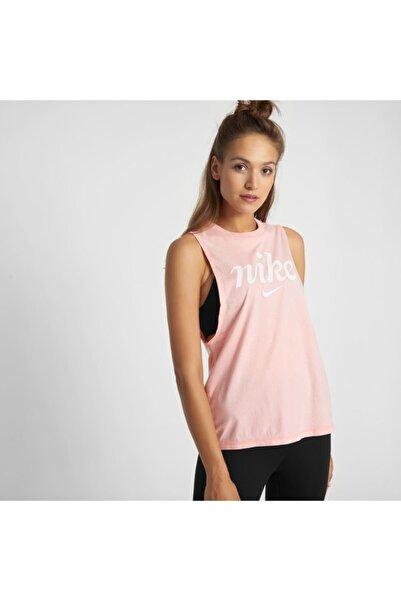 Nike Kadın Pembe Kolsuz Spor T-Shirt  Bq8029-697