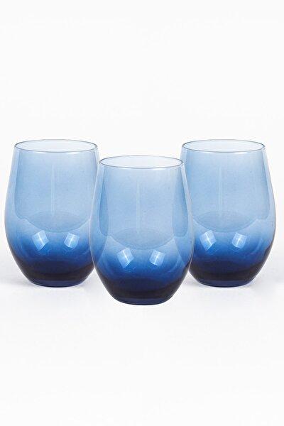 Rakle Iconic 3'lü Bardak Seti Mavi