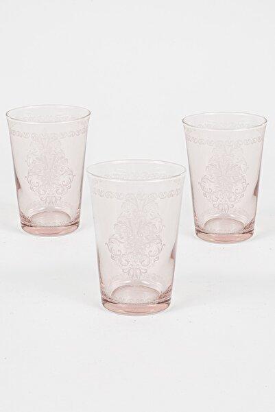 Rakle Rustic 3'lü Su Bardağı Seti Somon