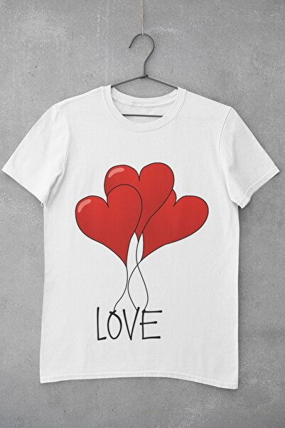 Tshigo Love Balloon Baskılı Kadın T-Shirt
