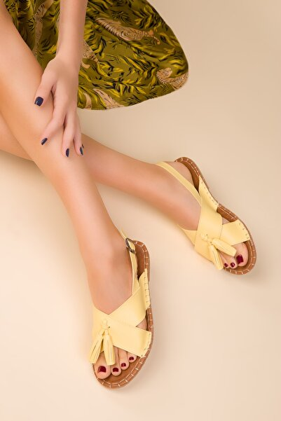 SOHO Sarı Kadın Sandalet 14702