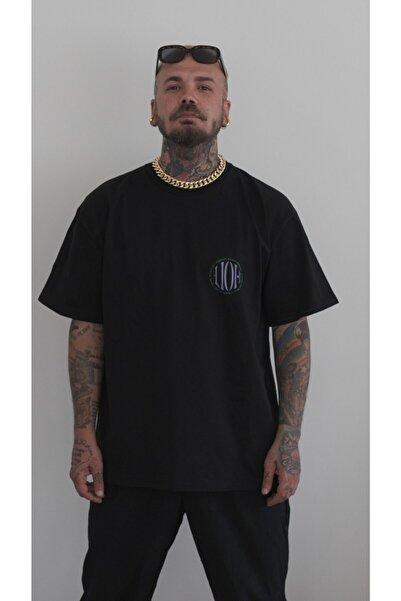HOLEACADEMIE Unisex Siyah  Oversize Tshirt