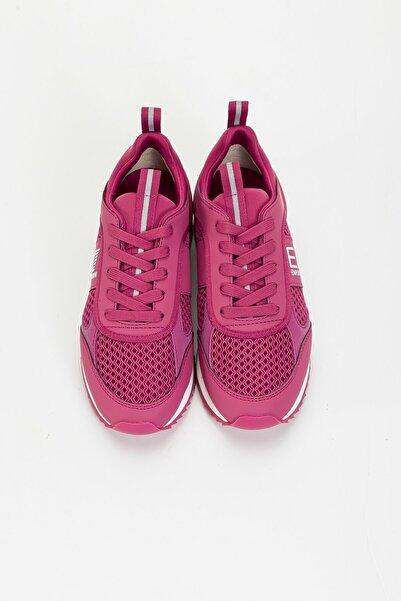 EA7 Erkek Pembe Activewear Sneakers