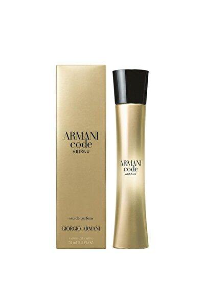 Giorgio Armani Code Absolu Edp 75 Ml Kadın Parfümü