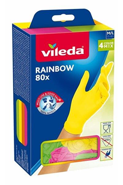 Vileda Rainbow Kullan At Eldiven 80 Adet