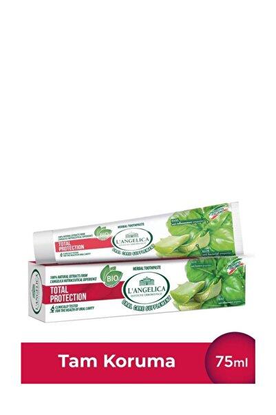 Langelica Diş Macunu Tam Koruma - Herbal Toothpaste Total Protection 100 Natural Extracts Of Aloe 75ml