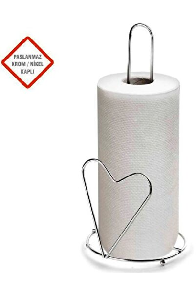 Biotech Metal Dikey Kağıt Rulo Havlu Tutucu Banyo Tuvalet Metal Havlu Ask
