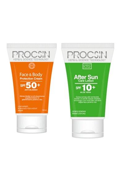Procsın Güneş Kremi Face&body Spf 50+ 150 Ml + After Sun Losyon Set