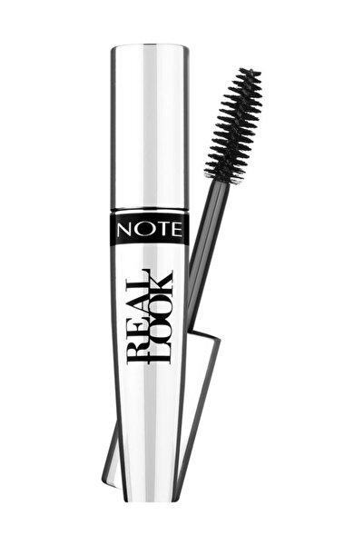 NOTE Cosmetics Siyah Maskara - Real Look Mascara