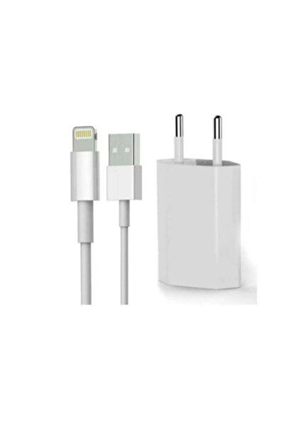Iphone Şarj Cihazı Seti Adaptör + Kablo 9