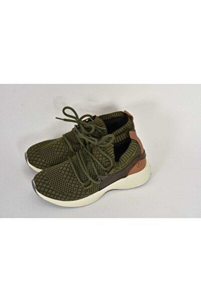 Pierre Cardin Haki Çoraplı Günlük Sneaker Spor Ayakkabı