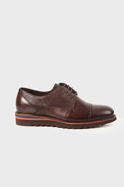 Hatemoğlu Erkek Kahverengi Klasik Ayakkabı