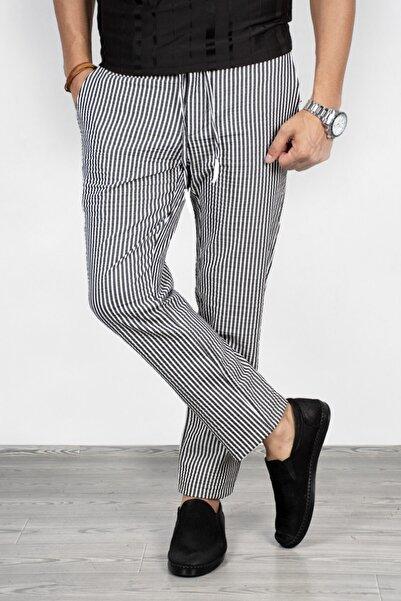 DeepSEA Erkek Siyah Çizgili Pantolon 2002651