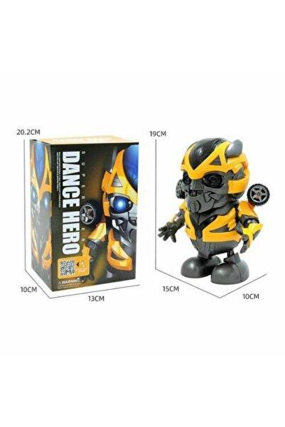 Robot Dance Hero Bumble Bee Işıklı Dans Eden Transfo