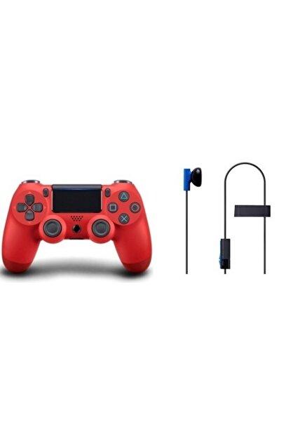 HADRON Ps4 Dualshock Wireless Oyun Kolu Ve Sony Orjinal Mikrofonlu Kulaklık