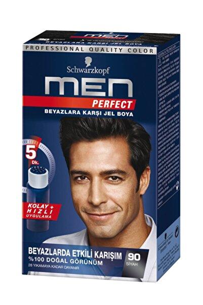 Men Perfect Saç Boyası 90 - Siyah
