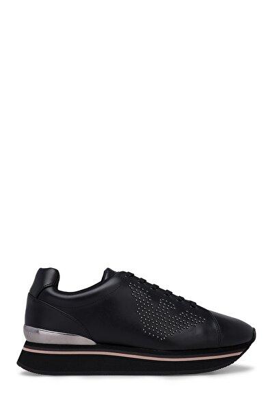 Emporio Armani Kadın Siyah Bağcıklı Ayakkabı S X3x055 Xm065 E593