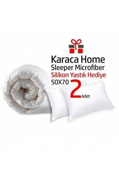 Karaca Home Microfiber Çift Kişilik Yorgan 195x215 + 2adet Yastık