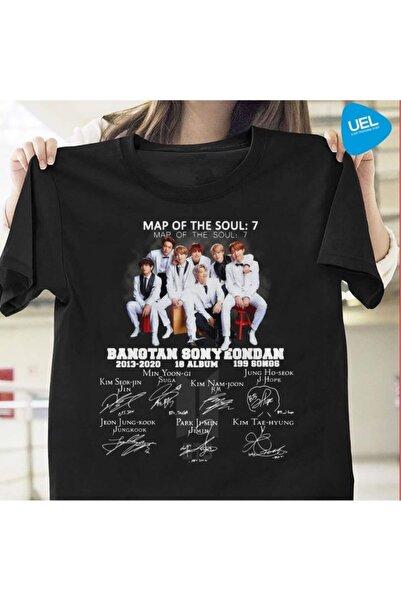 Köstebek K-pop Bts Map Of The Soul 7 Signs Unisex T-shirt