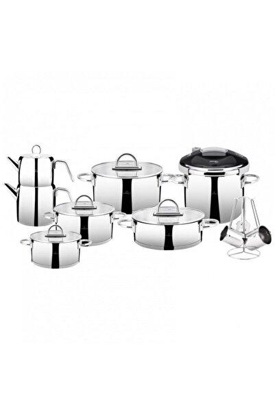 Karaca Platinum 17 Parça Çelik Çeyiz Seti