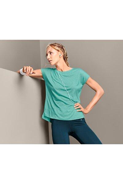 Tchibo Kadın Yeşil Spor Tişört