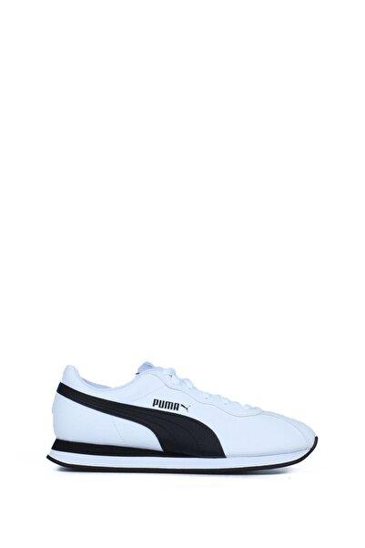 Puma 3669204 Erkek Beyaz Siyah Günlük Spor Ayakkabı