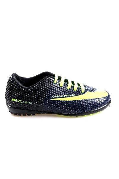 Pinkstep Erkek Çocuk Lacivert Futbol Ayakkabısı