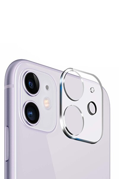 YGT Apple Iphone 11 3d Kamera Lens Koruyucu