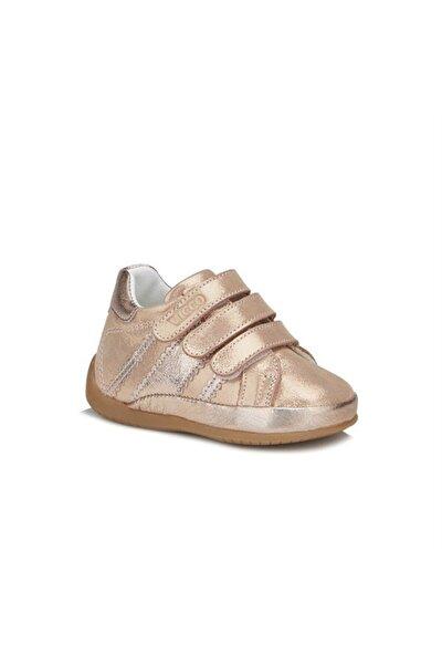 Vicco Kız Bebek Altın İlk Adım Deri Ayakkabı