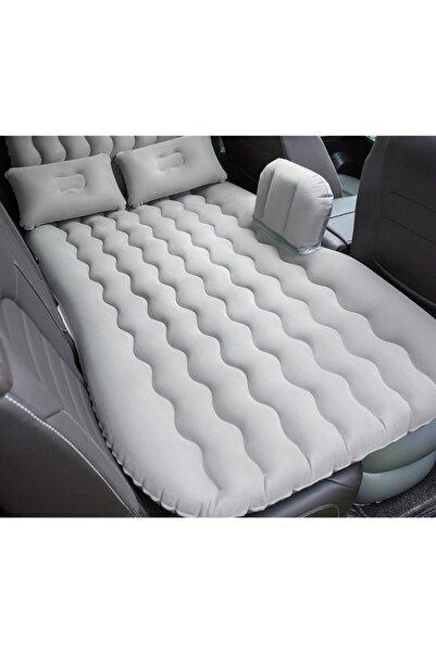 SmartFox Car Bed Araç Içi Şişme Yatak Araba Arka Koltuk Yatağı + Şişirme Pompası