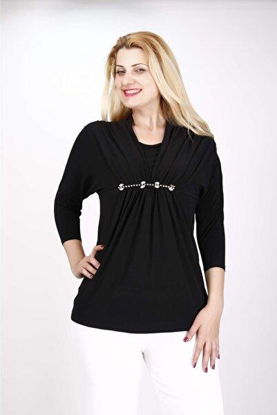 ESCAPE Kadın Siyah Bluz
