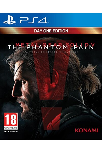 KONAMI Ps4 Metal Gear Solid 5 The Pantom Pain - Orjinal Oyun - Sıfır Jelatin