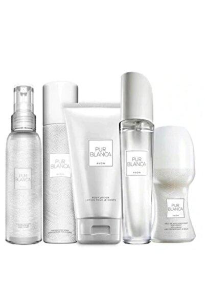 AVON Pur Blanca Edt Kadın Parfüm 50 Ml 5 Li Set