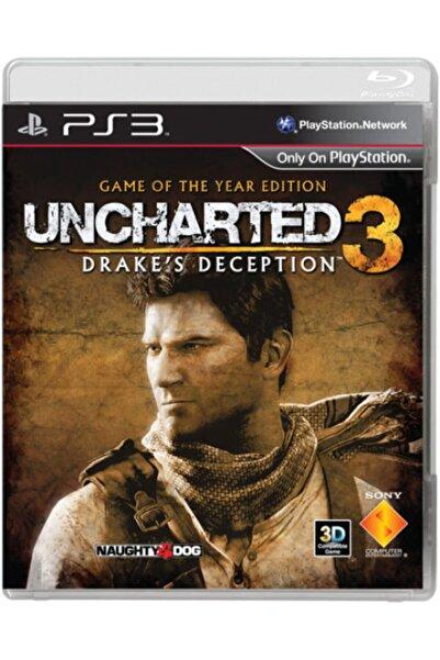 Sony Türkçe Uncharted 3 Drake's Deception