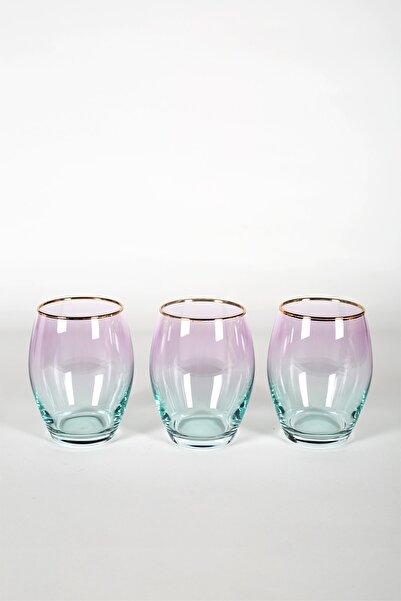 Rakle Serenade 3'lü Meşrubat Bardağı Seti Yeşil 390 cc