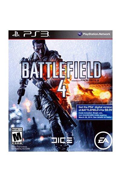 EA Ps3 Battlefield 4 - Orjinal Oyun - Sıfır Jelatin