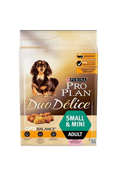 Purina Pro Plan Proplan Duo Delice Small Mini Adult Somon 2.5 kg